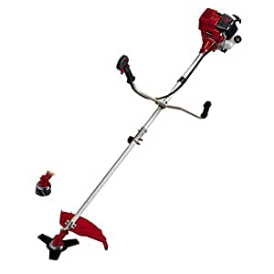 Einhell GC-BC 31-4 S 700W Gasolina Negro, Rojo - Cortacésped (2,5 mm, 4 m, 7000 RPM, Negro, Rojo, 48 cm, 31 cm³)