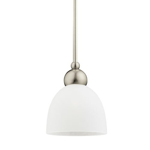 962 One Metropolis Light (Sea Gull Lighting 61035EN3-962 Metropolis Pendant, 1-Light LED 9.5 Watts, Brushed Nickel)