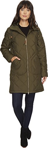 Burton Women's Bixby Long Down Jacket, Forest Night, Medium Down Snowboarding Jackets