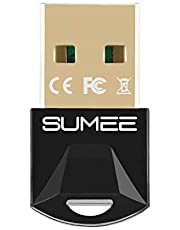 USB Bluetooth 5.0 Adapter Dongle,Wireless Bluetooth Transmitter Receiver for PC Laptop Computer Desktop Stereo Music Skype Call Keyboard Mouse Support All Windows 10/8 / 8.1/7