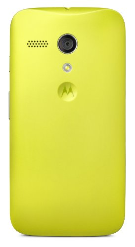 Motorola Shell for Moto G - Retail Packaging - Lemon