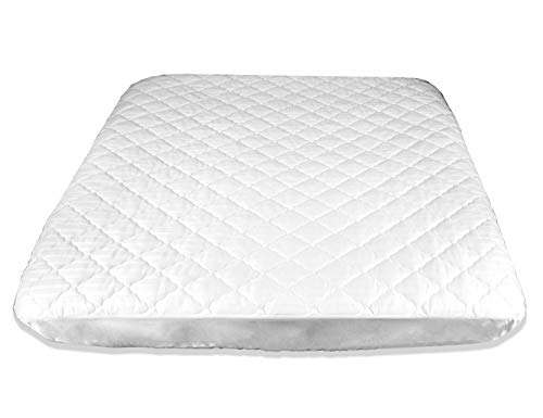Price comparison product image AB Lifestyles RV Camper Short King 72x75 USA Made Quilted Mattress Pad Cover