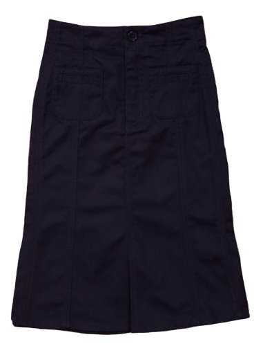 Genuine School Uniform Long A-line Skirt
