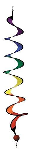 HQ Kites Windspiration Twist Rainbow Windspinner, Mini by Hq