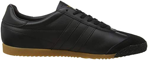 Leather Black Uomo Black Sneaker Bbk 50 Harrier Black Gola Zxq0EE