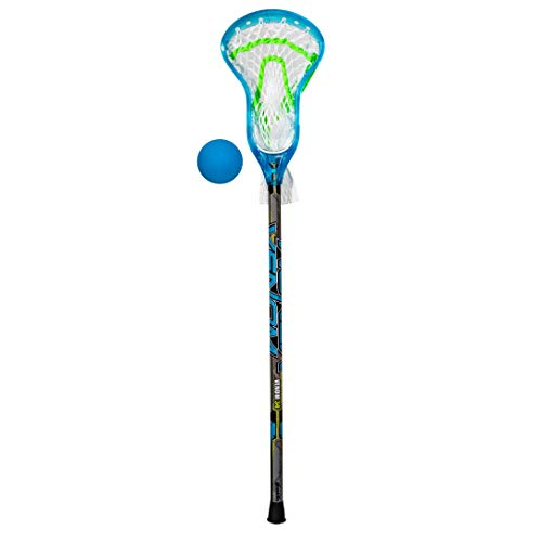 Franklin Sports Mini Pro Style Venom Lacrosse Stick & Ball Set - 34'