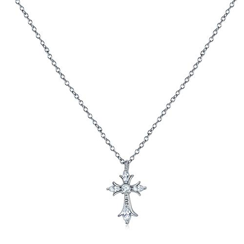 Tiny Cross Necklace For Women Pendant Choker Necklace Gold Plated Jewelry For Women Girls Gift