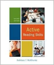 Active Reading Skills 2nd (second) edition Text Only