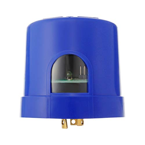 ZCHXD 120-277Volt Programmable Twist-Lock Photocell Sensor Dimming Photoelectric Switch with Surge Arrester (JL-253C)