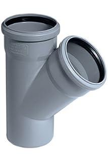 Rotstrich DN 70 Reinigung Reinigungsrohr HT