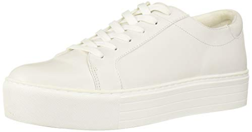 Kenneth Cole New York Women's Abbey Techni-Cole Platform Lace-up Sneaker, Off White Patent, 8.5 M US
