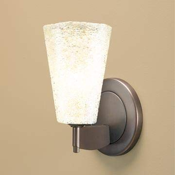 (Bruck Lighting 104179bz Bling 2 LED Wall Sconce-Bronze Finish-Clear Glass Shade )