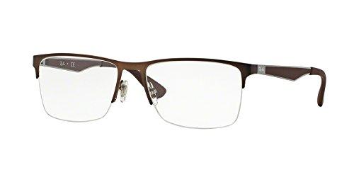 Eyeglasses Ray-Ban Vista RX 6335 2758 DARK MATTE - Ray 6335 Ban