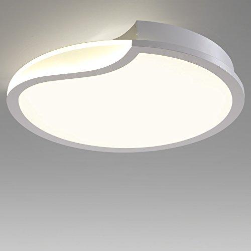 BLYC- Warme LED Lichter moderne minimalistische-Farbwechsler Deckenleuchten runden die Wohnzimmer Schlafzimmer Esszimmer Studie Lampe Mode Beleuchtung 500 * 500 * 90 mm