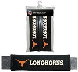 Texas Longhorns Velour Seat Belt Pads