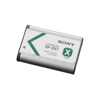 Sony NP-BX1/M8 Lithium-Ion X Type Battery (Silver)