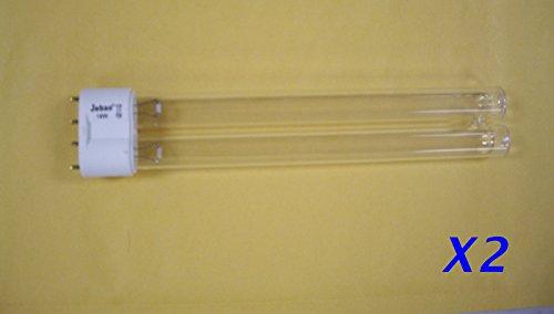 2x UV Bulb 18W 18 watts Lamp 2G11 Base Pond Sterilizer Clarifier for Odyssea - Pond 18w