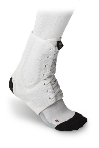 McDavid White Lightweight Laced Ankle Brace