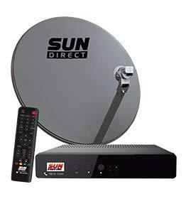 Sun Direct dth - 6 Months