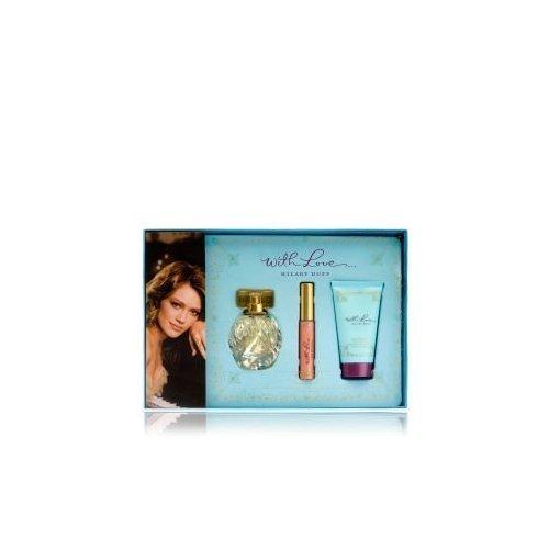 Hilary Duff With Love Gift Set - With Love Hilary Duff By Hilary Duff Gift Set for Women: Set-eau De Parfum Spray 1.0 Oz + .24 Oz Lip Gloss + 1.7 Oz Body Lotion