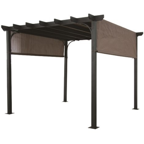 BACKYARD EXPRESSIONS GARDEN DELUXE PERGOLA SLING TOP by Backyard Expressions