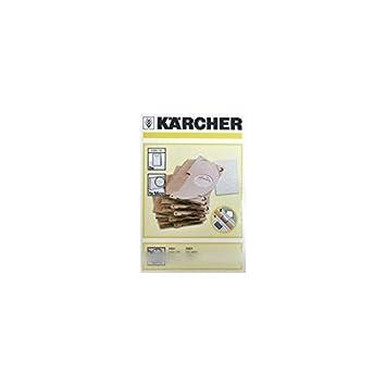 Karcher - Bolsas para aspirador (X5) para aspiradora Karcher ...