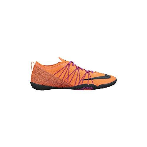 Nike Free 4.0 Croce Bionic 2, 718.841-801 Hyper arancione / nero / viola vivido