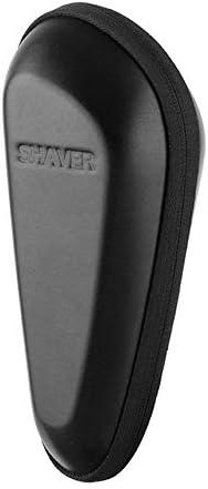 Bolsa Multifuncional Afeitadora eléctrica Universal Estuche de Viaje rígido Cuero de la PU Transporte Bolsa Protectora de Almacenamiento (Color : Negro, Size : M): Amazon.es: Equipaje