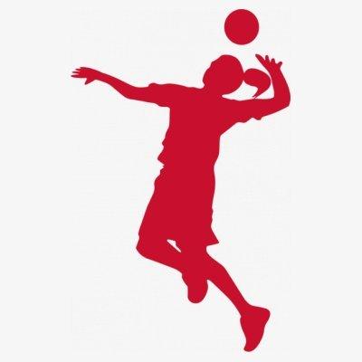 Sudadera con capucha de mujer Volleyball Girl by Shirtcity Blanco