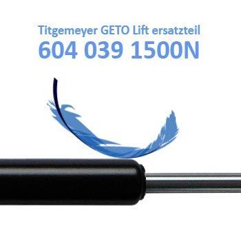 Ersatz f/ür Titgemeyer GETO Lift 604 039 1500N