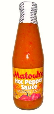 Matouks,Salsa Picante Hot Pepper Sauce, 10-Ounce (Pack of 24) by Unknown