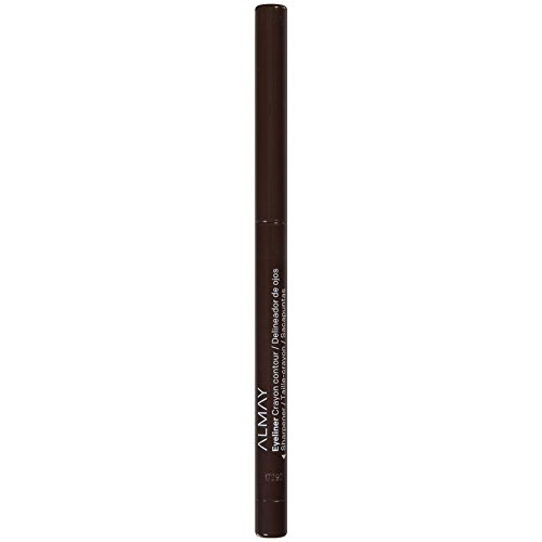 Almay Oil-Free Eyeliner Pencil, Brown, Ophthalmologist Tested, Hypoallergenic