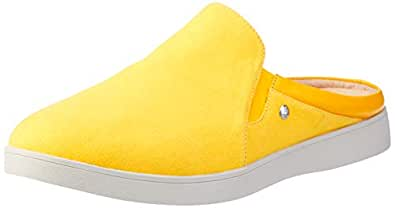 Hush Puppies Women?s Mayflower Clogs & Mules Summer Yellow 5 US