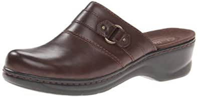 Clarks Women's Lexi Lilac Coffee Leather 5 M US