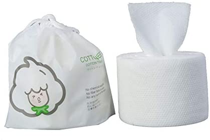 GothicBride Disposable Face Towel 100/% Luxury Facial Cotton Tissue Soft Towel Non-Woven Fabric Disposable Facial Cotton Tissue Makeup Facial Soft Pads
