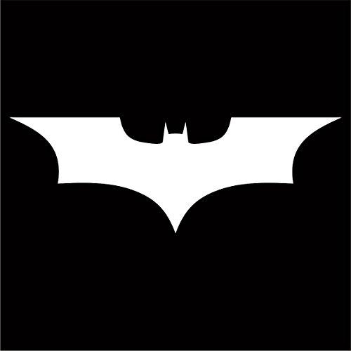 (Batman Dark Knight Decal / Sticker - White 4