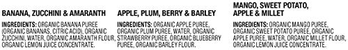 314ljy9i2iL - Plum Organics Stage 2, Organic Baby Food, Fruit, Veggie And Grain Variety Pack, 3.5 Ounce Pouches (Pack Of 18)