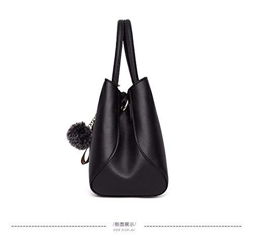 31x24x13cm Bag Dimensione Rosa Da Donna Tracolla Borsa Shopping colore Willsego A Red a Per XqS7ppw