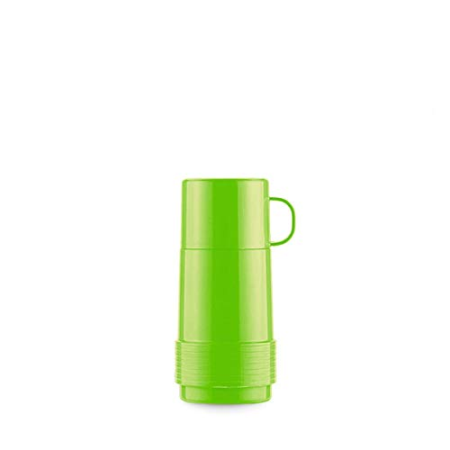 Valira Coleccion 1969 - Botella de vidrio aislante de doble pared con vacio de 0,25 L hecha en Espana, color verde, Reus Fun