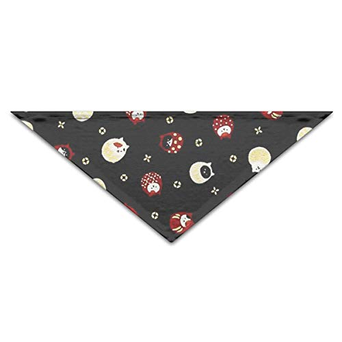 OLOSARO Dog Bandana Cat Tumbler Triangle Bibs Scarf Accessories for Dogs Cats Pets Animals -