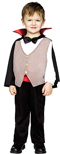 Boys Li'L Drac Kids Costume Small 4-6 Boys