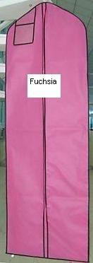 New Fuchsia Breathable Wedding Bridal Dress BridalPetticoat Garment Bag (600GBF)