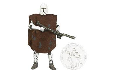 (Star Wars 30th Anniversary CLONE TROOPER Hawkbat Batallion Action Figure with Coin)