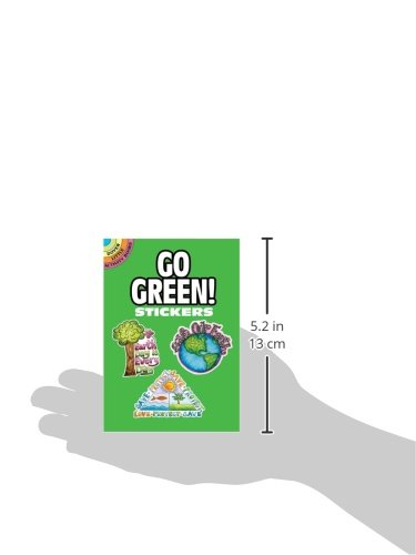 Go Green! Stickers (Dover Little Activity Books Stickers)