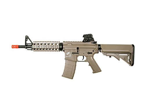 src aeg-the dragon sr4a1ris nimah/charger included-metal gb(Airsoft Gun)