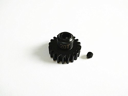 Raidenracing Harden Steel 20T Motor Gear for Traxxas X-Maxx XMAXX 6S 8S (20t Gear)