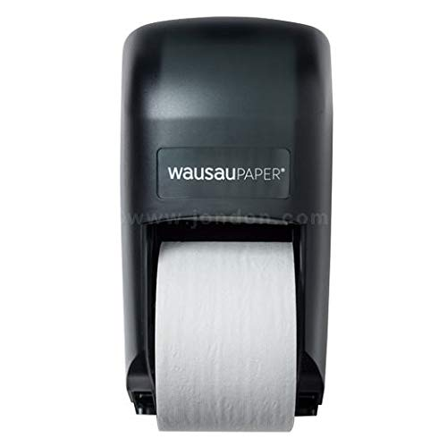 DublServ Vertical Double Tissue Dispenser, Black (2 Units)