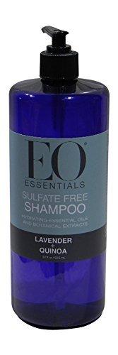 Lavender French Hair Shampoo - EO Essentials Sulfate-Free Shampoo Lavender Quinoa