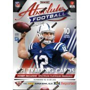 2014 Panini Absolute Football Cards Hobby Box (10 CARDS PER BOX, 3 Memorabilia, 2 Autos, Possible 6-player & 8-player swatch cards, Possible Rookie Cards of Bridgewater, Watkins, Manziel, Beckham & more) - In Stock!! (Autographed Card Stock)