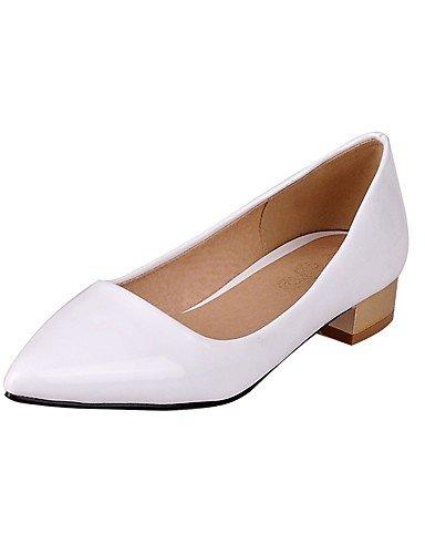 scarpe Fucsia us9 Bianco punta tacco Scarpe Rosa pelle Cn41 con Scarpe e All'ingrosso da tacco lavoro Uk7 Comfort a Nero Eu40 Ufficio Fuchsia Ggx con Casual donna TgzB6qwwn